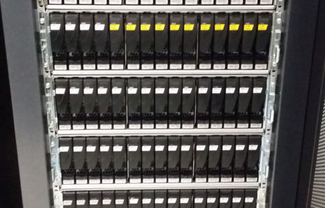 Data storage equipment liquidation