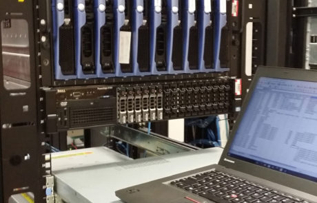 Data center liquidation - performing an inventory at a client's site prior to equipment removal