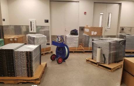 IT Equipment Liquidators - picture from a Florida project
